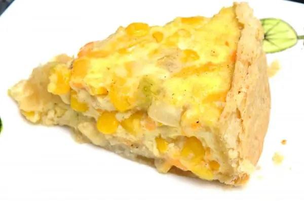 corn-quiche
