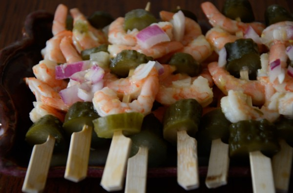 Lemon Dill Shrimp Appetizers
