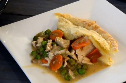 chicken-pot-pie-serving-on-white-plate