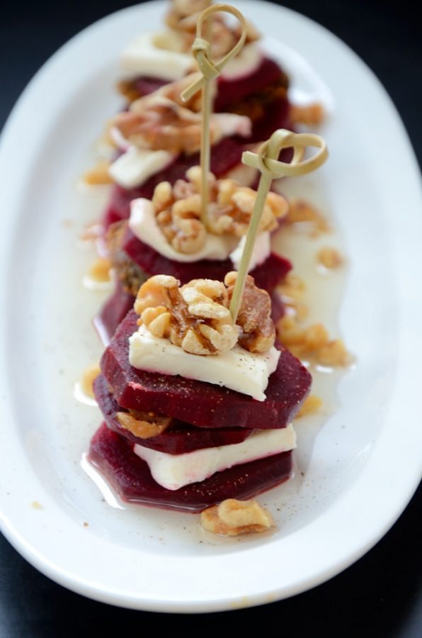 This Beet Walnut Fig combination is a marriage made in heaven! So easy to make and a substantial side or appetizer!