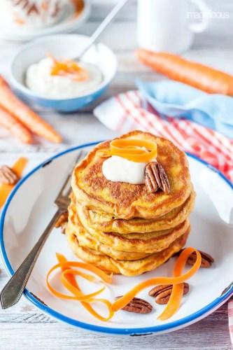 Easter carrot-cake-pancake