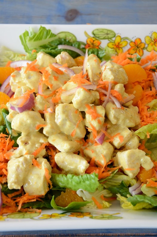 This Curried Chicken Salad with Pickled Ginger is so refreshing and full of flavour! This will become a staple in your salad repertoire if you are a curry fan. The Pickled Ginger adds a very refreshing hit to the final taste.