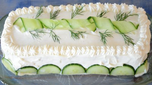 Egg Salad Sandwich Cake