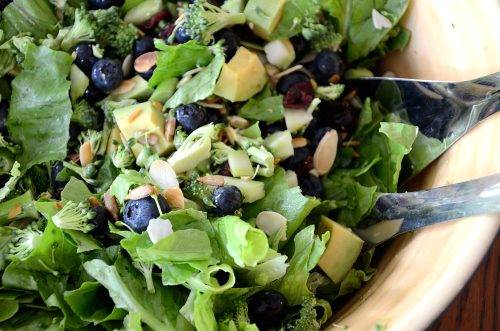 Blueberry Broccoli Salad
