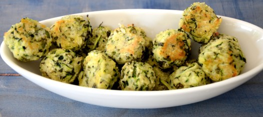 Herbed Zucchini Bites