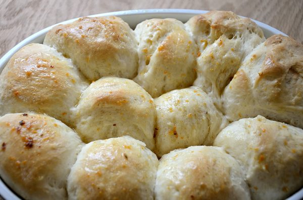 Buttery Garlic Buns