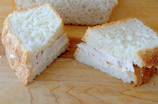 Bread Machine White Sandwich Bread