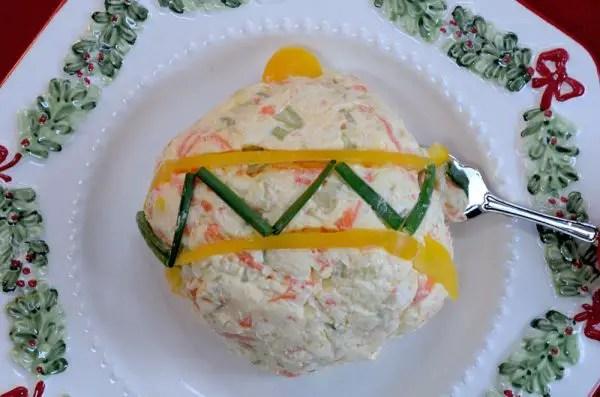 Veggie Cheese Ball