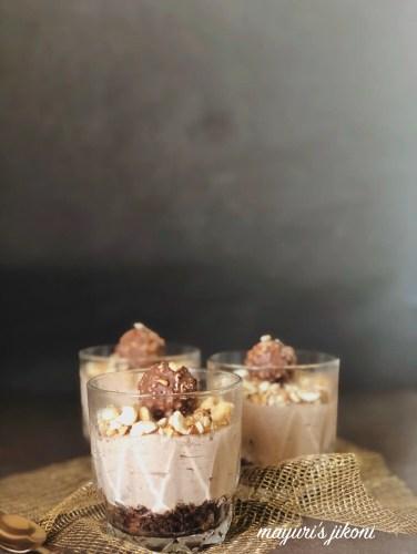 Ferrero Rocher Cheesecake