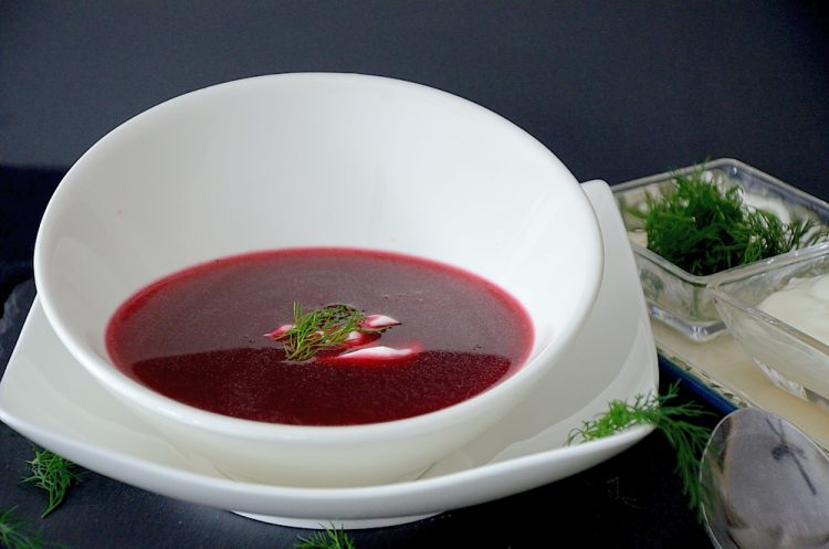 Polish Borscht Soup The Wine Lover S Kitchen