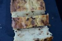 German potato loaf cut in slices