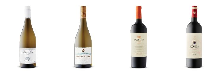 Pinot gris,Sauvignon Blanc, Malbec and Bordeaux from LCBO Vintages release Jan 19, 2019