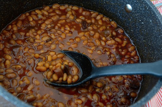 Princess's Molasses Baked Beans