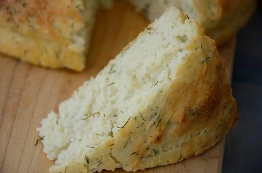 No Knead Dill Bread