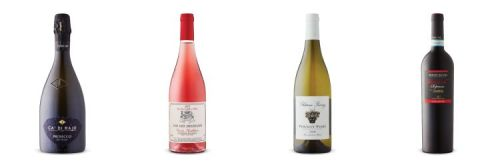 Four bottles of wine from April 18, 2020 Vintages LCBO release