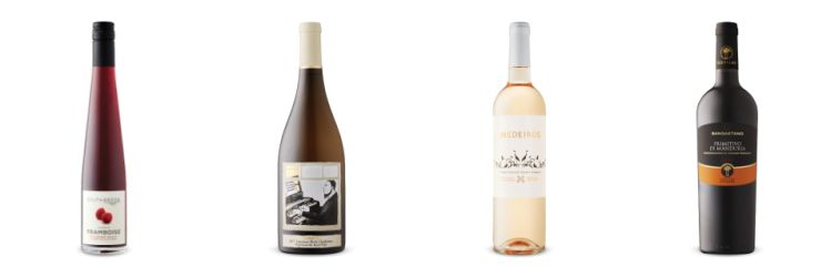 Four bottles of wine from May16th, 2020 Vintages LCBO release