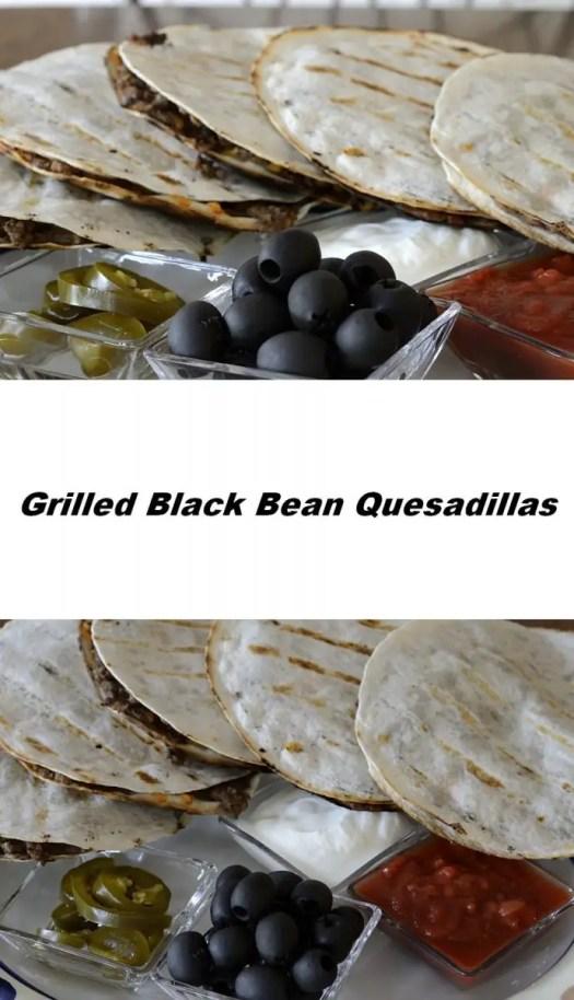 Beef Black Bean Quesadillas