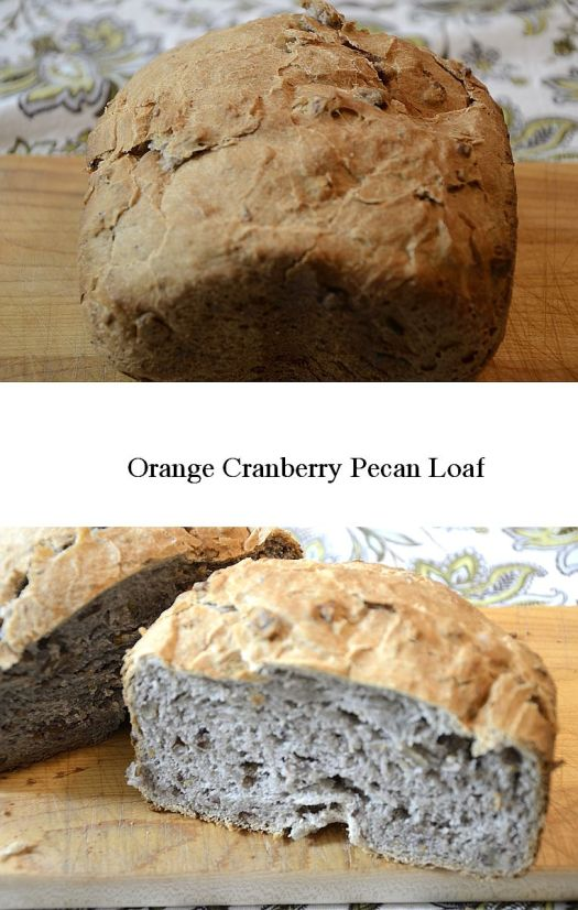 Orange Cranberry Pecan Loaf
