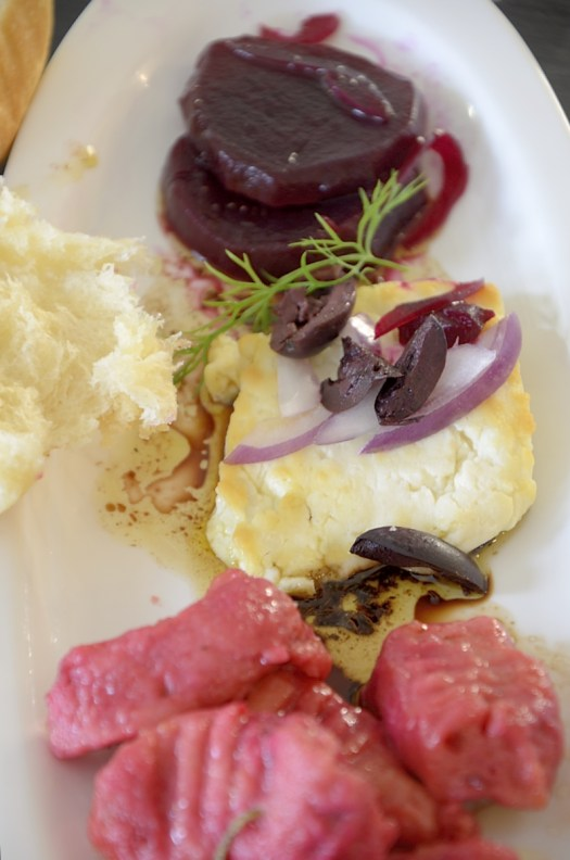 Beet Gnocchi in Rosemary Butter