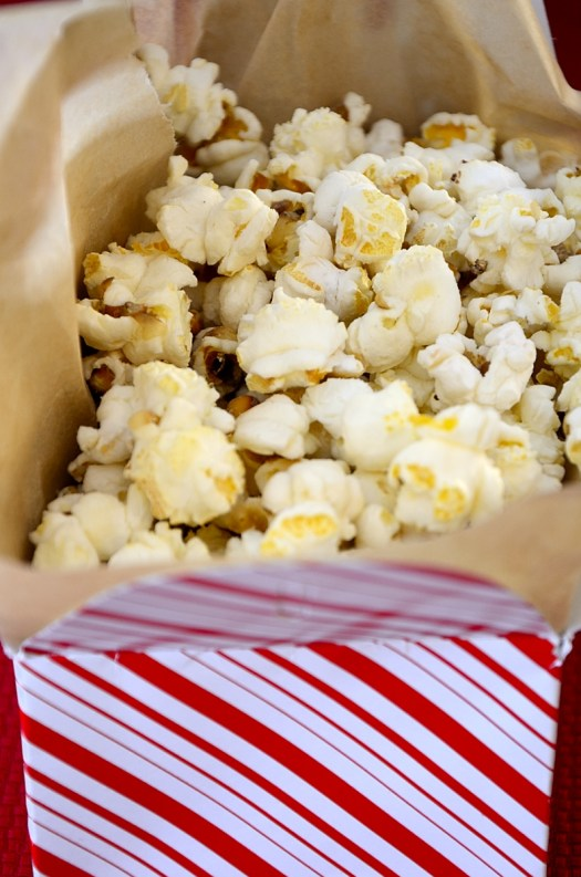 Buttery Sweet and Salty Popcorn