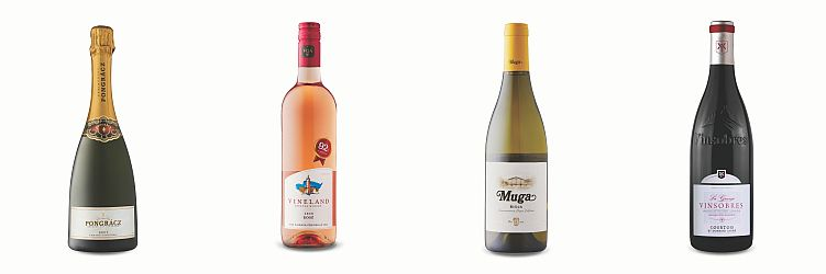 Four bottles of wines from Aug 21, 2021 LCBO Vintages release.
