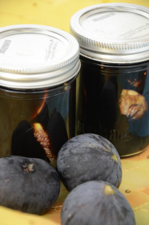 Quick Pickled Figs