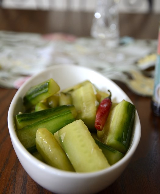 Spicy Cooked Cucumbers