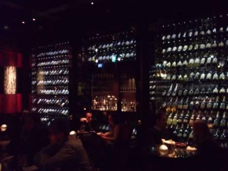 Wall of Wine cellar
