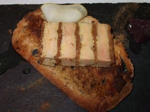 foie on toast