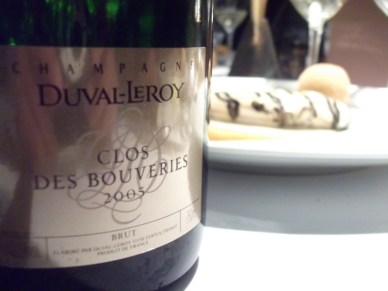 Clos de Bouveries 2005 cuvee oenoclimatique