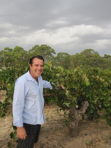 James Lindner and OLD shiraz