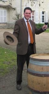 Francois Regis de Fougeroux, winemaker Chateau-Langlois