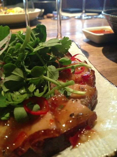 chili pork belly