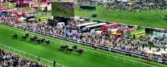 Pure Chablis at the Epsom Derby 2013