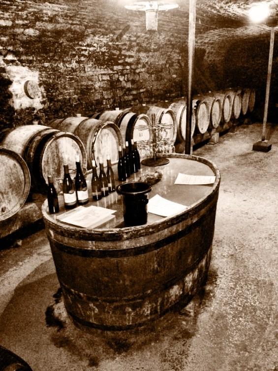 Rapet cellar/tasting room