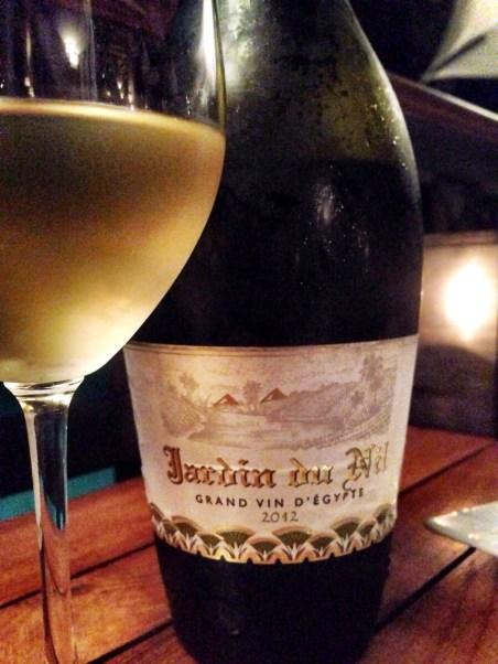 Jardin du Nile white - Egyptian wine