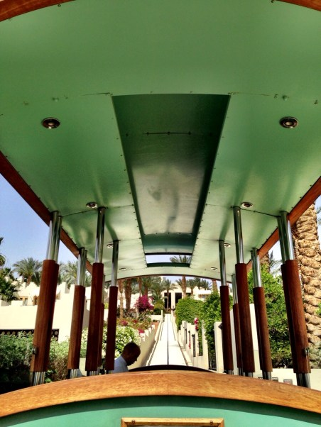 funicular which transports guests up and down the hill
