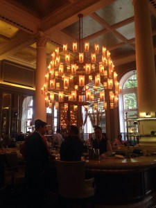 The bar at the Corinthia Hotel