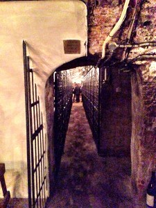 entrance to the Stafford's Cellar