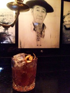 Gaucho and cocktail