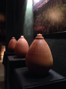 amphora for fermenting xarello