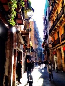 in the Born, Barcelona