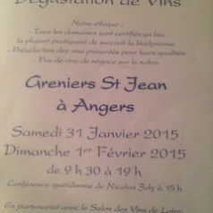 Tasting natural, organic and biodynamic wines at the Renaissance des Appellations Greniers St. Jean