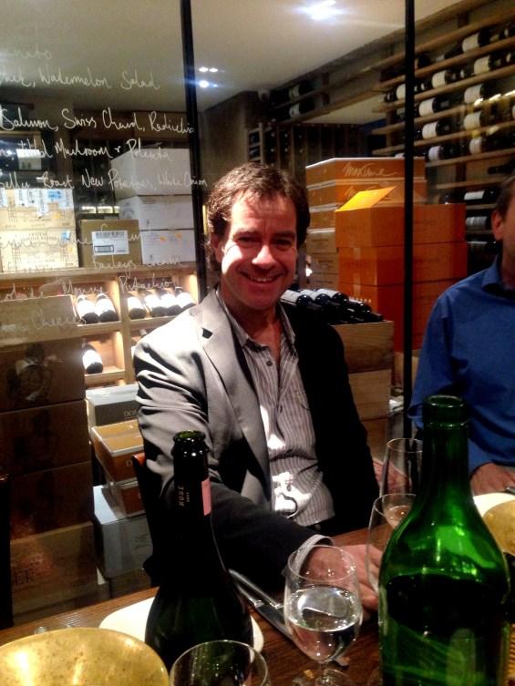 Adolfo Hurtado, CEO and chiefwinemaker, Cono Sur wines, Tour de France