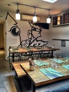 dining area at Hook Camden London