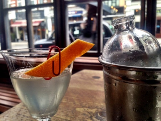 The Lucky Luke -comes with a reminder of the office, 3 martini lunch, Singer Tavern, Moorgate, London
