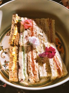 tea sandwiches The Four Seasons Hotel Mayfair London Afternoon tea