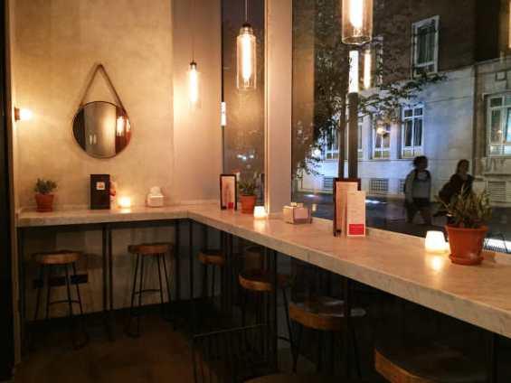 evening at the bar Camino Bankside London
