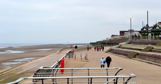 Blackpool seaside, England