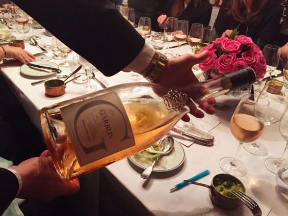 a double magnum of Garrus. Chateau d'Esclans, rosé wine, Provence, France, vin de Provence,